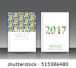 templates. set of flyer ... | Shutterstock .eps vector #515386480