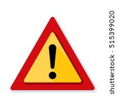 exclamation danger sign | Shutterstock .eps vector #515399020