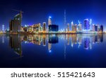 Panoramic View Dubai Business Bay - Fine Art prints