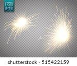 set of metal welding with... | Shutterstock .eps vector #515422159