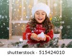merry christmas and happy... | Shutterstock . vector #515424010