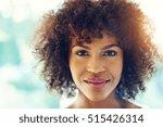 portrait of stunning afro...   Shutterstock . vector #515426314