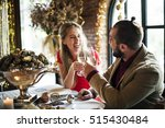 restaurant chilling out classy... | Shutterstock . vector #515430484