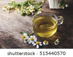 cup of chamomile tea with... | Shutterstock . vector #515440570