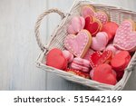 Pink And Red Heart Shaped...