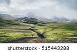 hiking iceland | Shutterstock . vector #515443288