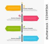 vector infographic. template... | Shutterstock .eps vector #515449564
