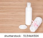 container of facial cleansing... | Shutterstock . vector #515464504