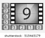 movie countdown numbers vector... | Shutterstock .eps vector #515465179