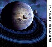 Unknown Planet 3d Illustration...