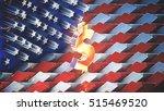 usa dollar 3d illustration for... | Shutterstock . vector #515469520