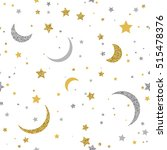 Starry Seamless Background Wit...