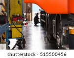 automobile mechanic checking... | Shutterstock . vector #515500456