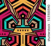 abstract seamless modern art... | Shutterstock .eps vector #515500540