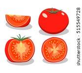 abstract vector illustration... | Shutterstock .eps vector #515549728