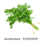 Parsley Bunch Tied With Ribbon...