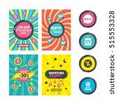 sale website banner templates.... | Shutterstock .eps vector #515553328