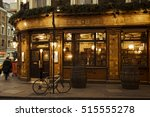 london pub illustration 3.... | Shutterstock . vector #515555278