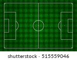football field or pitch top... | Shutterstock . vector #515559046