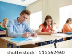 education  learning and people... | Shutterstock . vector #515562460