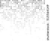 gray white random dots... | Shutterstock .eps vector #515564149