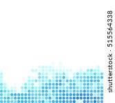 blue random dots background ...   Shutterstock .eps vector #515564338