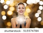 people  holidays  magic and... | Shutterstock . vector #515574784