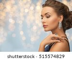 people  holidays  jewelry and... | Shutterstock . vector #515574829