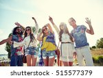 nature  summer  youth culture... | Shutterstock . vector #515577379