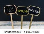 concept message inbound...   Shutterstock . vector #515604538