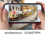 augmented reality marketing... | Shutterstock . vector #515607994