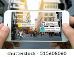 augmented reality marketing... | Shutterstock . vector #515608060