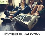 radio music friends unity style ... | Shutterstock . vector #515609809