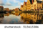 ghent is a city and a... | Shutterstock . vector #515615386