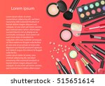 beauty cosmetics makeup with...