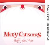 christmas greeting card with... | Shutterstock .eps vector #515677939