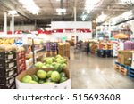 blurred image organic boxes of... | Shutterstock . vector #515693608