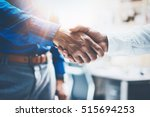 close up view of business... | Shutterstock . vector #515694253