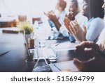 photo of young business... | Shutterstock . vector #515694799