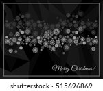 merry christmas greeting card... | Shutterstock .eps vector #515696869