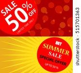 sale design template   Shutterstock .eps vector #515701363