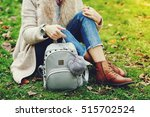 elegant outfit. close up of... | Shutterstock . vector #515702524