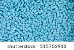 plastic granules close up for... | Shutterstock . vector #515703913