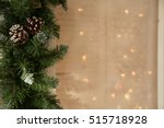 close up of the christmas tree... | Shutterstock . vector #515718928