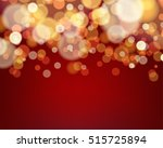 Golden Light Bokeh Background...
