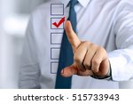 businessman  making vote  by  a ...   Shutterstock . vector #515733943