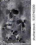 dirty skulls | Shutterstock . vector #515740330