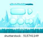 mountain seamless background... | Shutterstock .eps vector #515741149