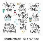 season life style inspiration... | Shutterstock .eps vector #515764720