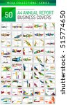 mega collection of 100 business ... | Shutterstock .eps vector #515774650